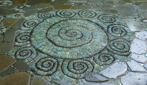 How To Make Pebble Mosaic Pathways Shelterness