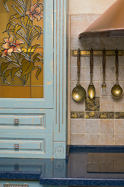 How To Renovate Kitchen Cabinets In Provence Style Shelterness