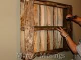 How To Make Shabby Chic Pallet Shelves