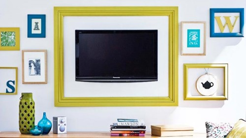 How To Make Wall-Mount TV Looks Like Art