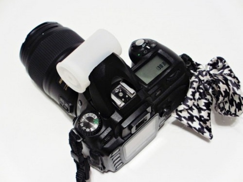 How To Make Your Own Camera Flash Diffuser - Shelterness