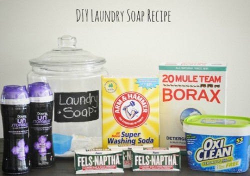 How To Make Your Own Laundry Soap Shelterness