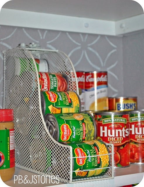 How To Organize Canned Veggies