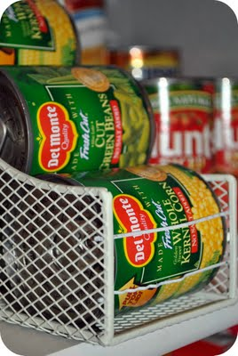 How To Organize Tin Cans