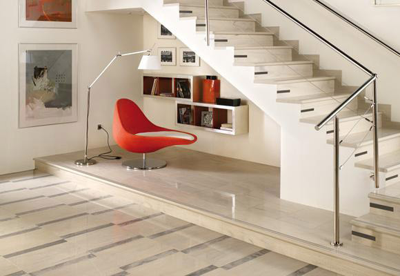 Picture Of How To Organize Under Stairs Reading Nook