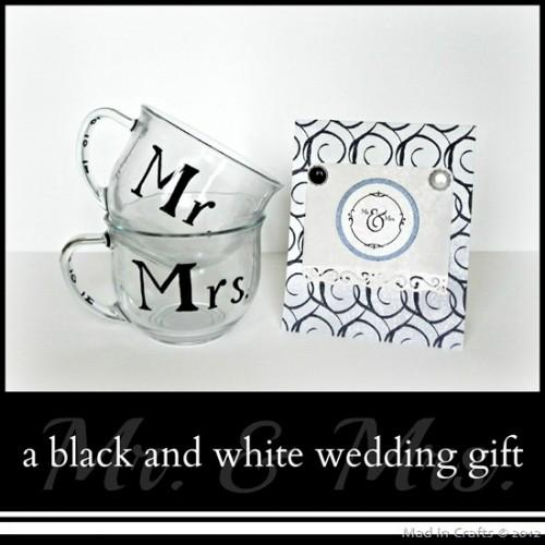 Mr. and Mrs. mugs (via madincrafts)