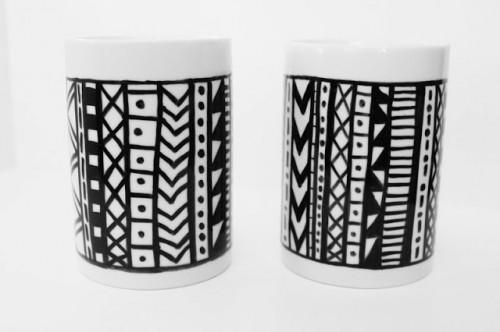 aztec mugs (via wrappedupinrainbows)
