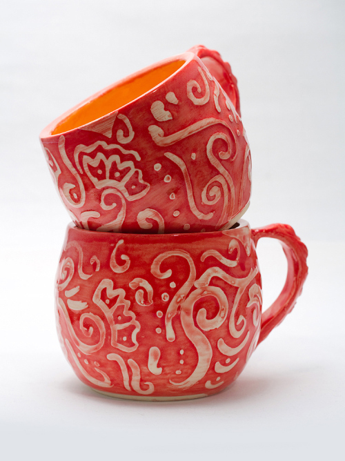swirly mugs