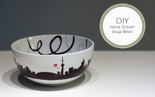 How To Paint A Soup Bowl