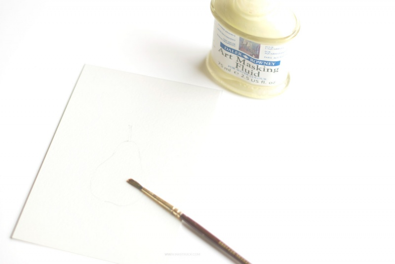 Picture Of how to paint with watercolors using straws  2