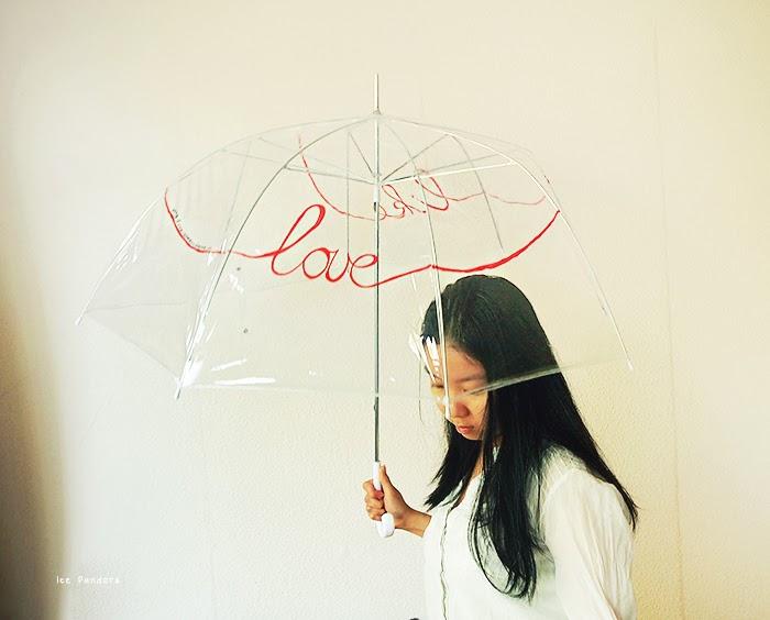 love infinity umbrella