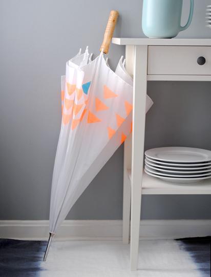 triangle pattern umbrella (via designformankind)