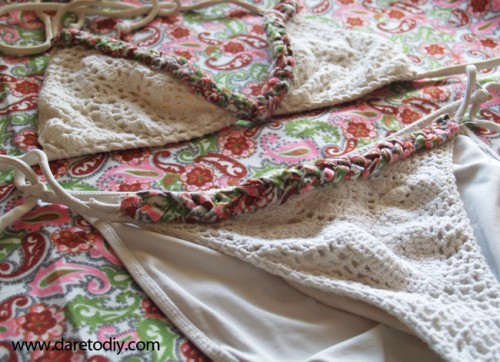 renewing with vintage fabric