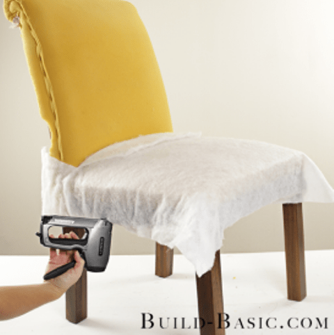 how to reupholster dining chairs yourself shelterness