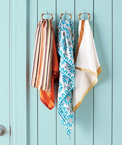 59 Scarf Storage Ideas That Inspire Shelterness