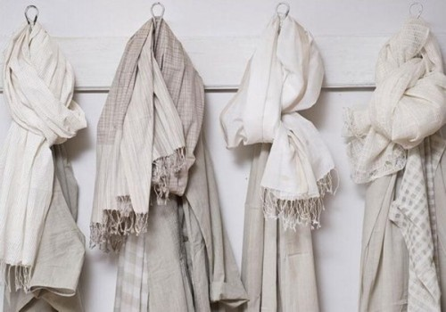 store scarves in closet is always a good idea to save their neat look