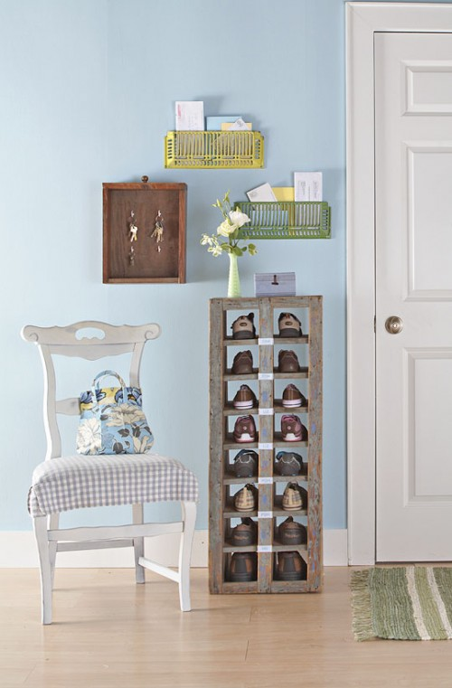 Vintage shoe rack would look great in any interior