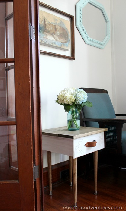 How To Turn A Drawer Into An End Table