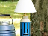 How To Turn A Vintage Thermos Into A Lamp