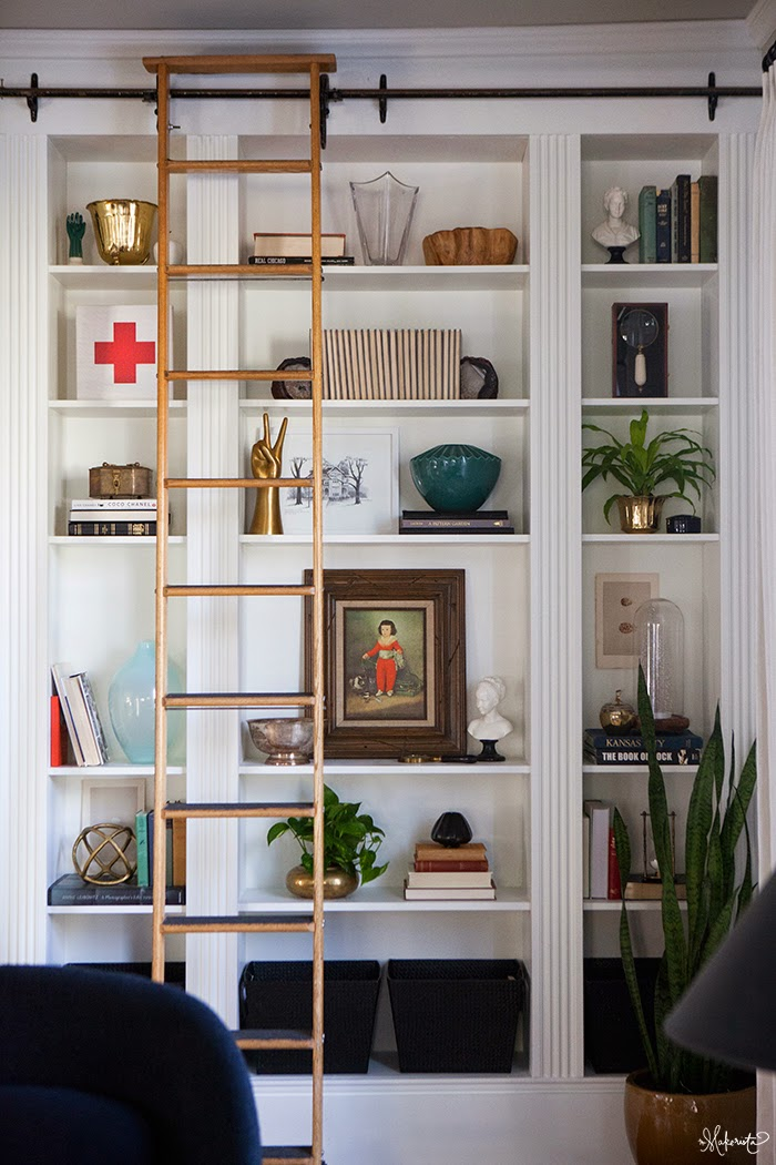 Picture Of how to turn ikea bookshelves into a bookcase  4