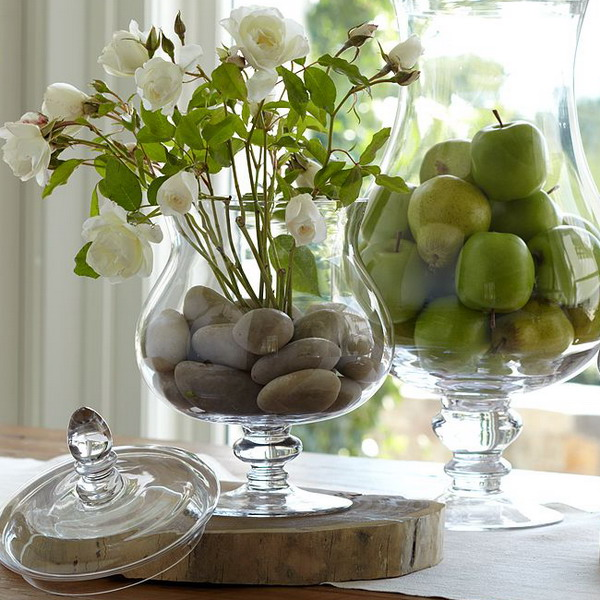 Picture Of How To Use Pebbles To Decorate Your Interior