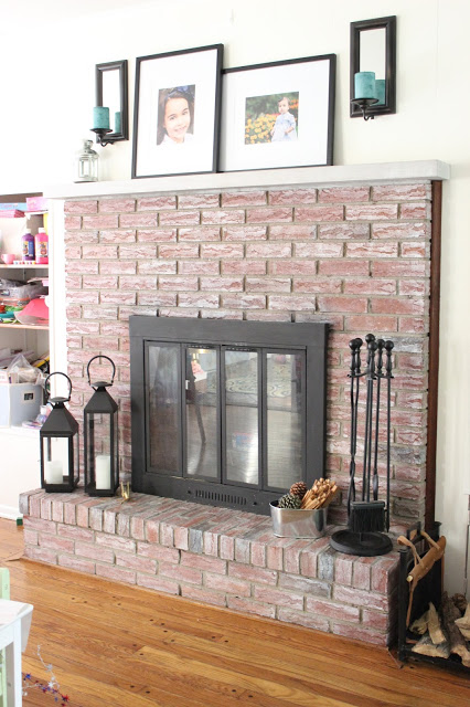 How To Whitewash A Brick Fireplace: 8 Tutorials