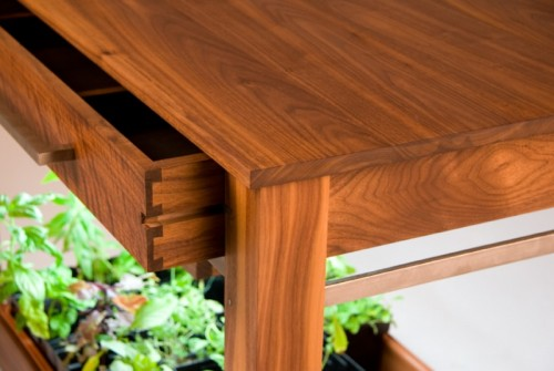 Hydroponic Kitchen Table