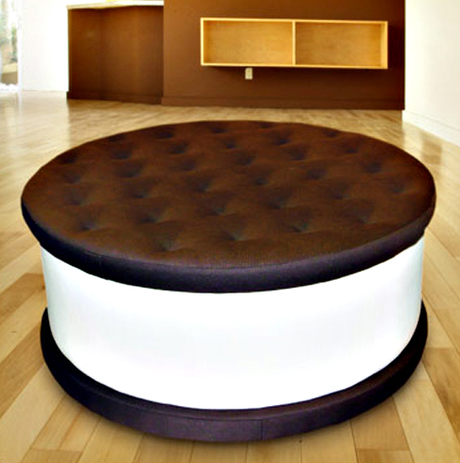 Ice Cream Cookie Ottoman