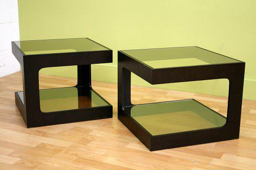 Ida Black Oak Coffee Table (via