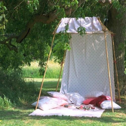 Идей навесов шатров для дачи