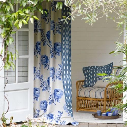 Bon Ideas Of Fabric Decor In Your Garden