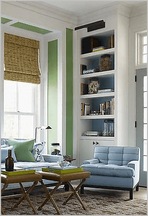 Ideas To Add Background For Your Bookcases