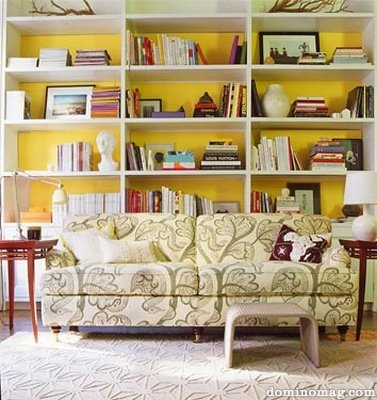 50 Ideas To Spice Up Your Bookcase With A Backround - Shelterness