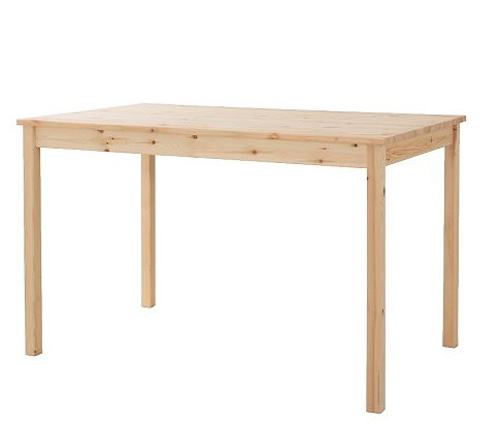 An IKEA Dining Table Into A Stylish Coffee Table Shelterness