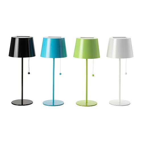 New colorful solar lamp from ikea solvinden shelterness for Ikea tea light battery
