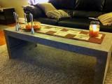 mason concrete coffee table