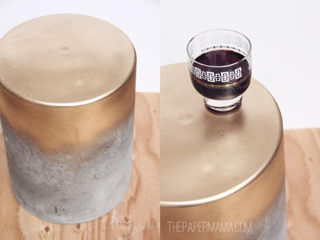 concrete tablestool