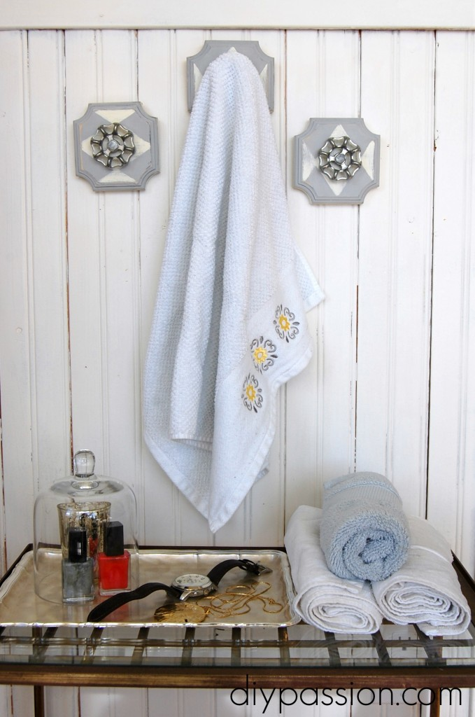 Picture Of industrial decor idea diy faucet wall hooks  4