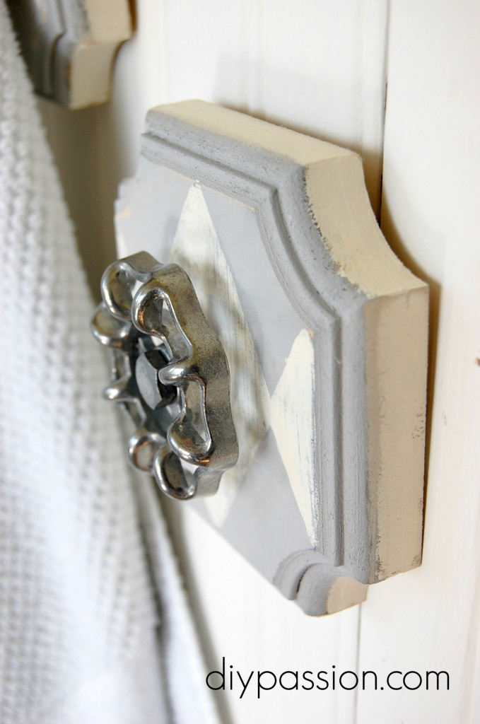 Picture Of industrial decor idea diy faucet wall hooks  5