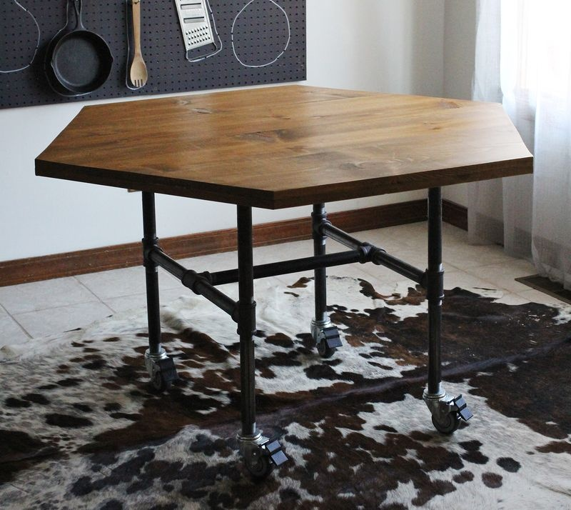 Industrial Diy Pipe Legs Table