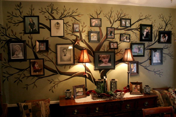 Family Tree Design Ideas colorful family tree wall decal Inspiring Family Trees