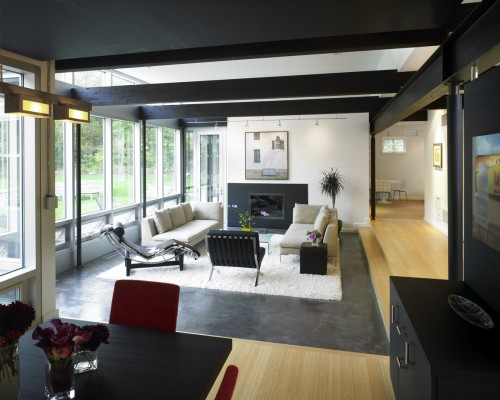 25 Ideas To Use Metal Beams In Interior Design Shelterness