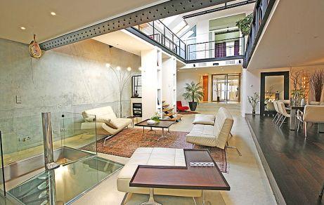 Attractive Iron Beams In Interior Design