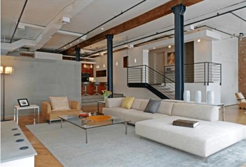 Iron Beams In Interior Design