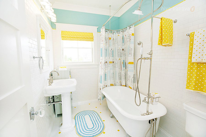 Picture of kids bathroom decor ideas for Kids bathroom decorating ideas pictures