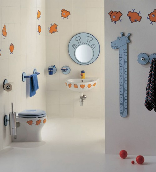 15 Cheerful Kids Bathroom Design Ideas