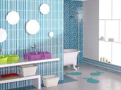 15 Cheerful Kids Bathroom Design Ideas | Shelterness