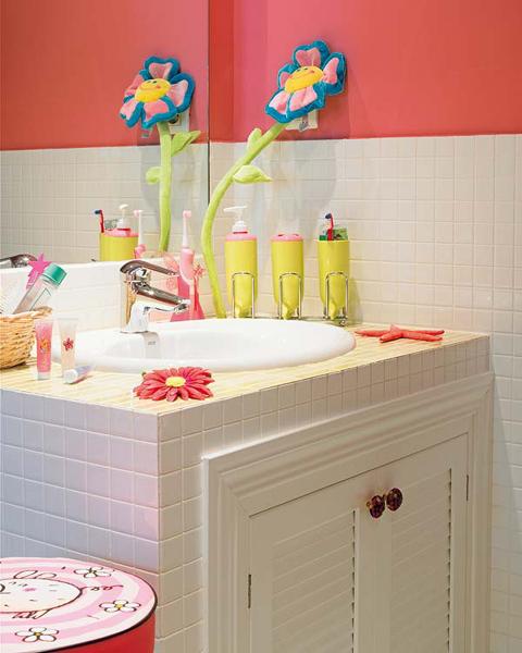 Nice Kids Bathroom Design Ideas
