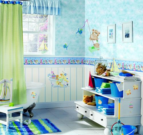 Unique Kids Bathroom Design Ideas