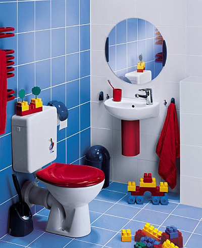 Cheerful Kids Bathroom Design Ideas Shelterness